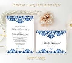 Damask Wedding Invitations Elegant Wedding Invitations Lemonwedding