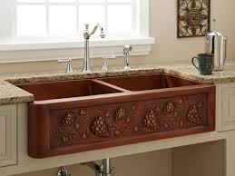 sink u0026 faucet luxurious country copper kitchen sinks for sale