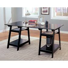 Black Wood Desk Eagle Furniture Coastal Customizable Writing Desk With Optional