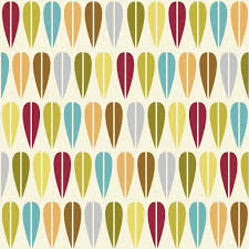 retro wrapping paper vintage leaf wrapping paper 5 sheets rex london dotcomgiftshop