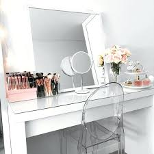 desk makeup vanity ikea malm dressing table mirror white vanity
