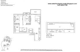 Minton Floor Plan by Waterfront Gold Bedokreservoir By Frasers Centrepoint Home