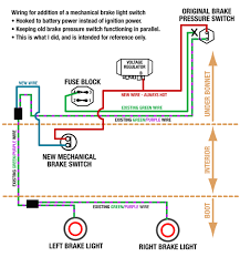 brake light switch wiring diagram kwikpik me