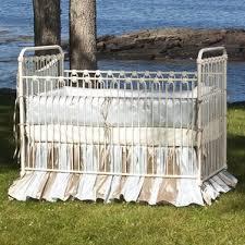 wrought iron crib wayfair