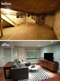 candice olson long narrow basement divided into 3 zones house