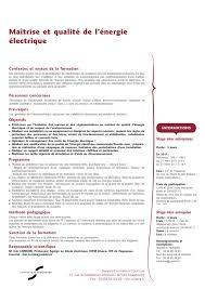 bureau plus haguenau maîtrise et qualité de l énergie électrique iut de haguenau