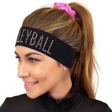 wide headband rhinestone sparkly and shiny wide headband stretch is
