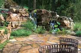Waterfall In Backyard Creating Realistic Backyard Streams And Waterfalls Requires