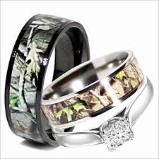 camo wedding rings his and hers wedding rings sets his and hers fresh inspirational his and camo