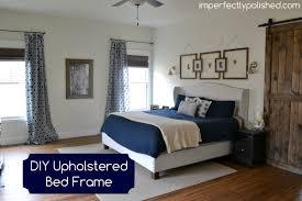 diy upholstered bed frame jpg