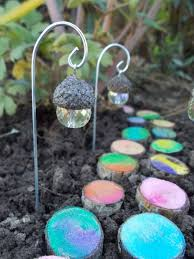 Pinterest Gardening Crafts - acorn lantern fairy light fairy garden terrarium by fairyelements