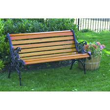 the 12 slat park bench from harbor freight tools will add charm to