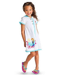 new frozen children sleepwear elsa cotton bathrobe