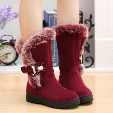 womens high heel boots australia winter warm mid calf zapatos mujer patform high heel shoes