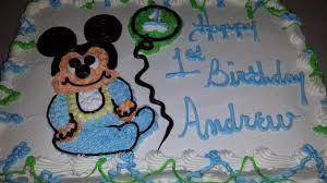 baby mickey mouse cake picture of butter crumbs bake shoppe