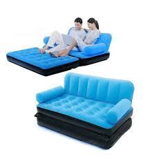 bestway 5 in 1 inflatable sofa air bed blue buy bestway 5 in 1