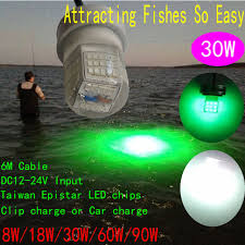 led fish attracting lights ip68 underwater led fish attracting fishing light 30w fishing lure