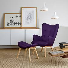Purple Chair Uk Contour Chair Set Blue Sun Tree