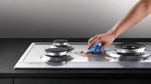 how to clean a stove cooktop stay at home mum