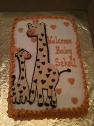 26 best babyshower cakes images on pinterest giraffe baby