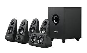 amazon com logitech z506 surround sound home theater speaker