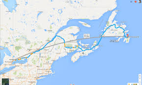 Newfoundland Canada Map by How To Plan A Road Trip From Ontario To Newfoundland I Don U0027t
