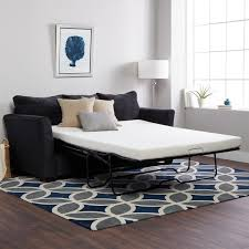Memory Foam Mattress Sofa Bed by Select Luxury New Life 4 5 Inch Twin Size Memory Foam Sofa Bed