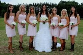 bridesmaid dresses with cowboy boots pale pink bridesmaid dresses with cowboy boots naf dresses