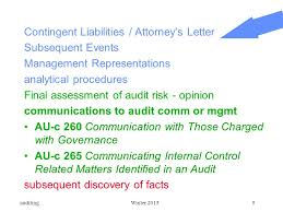 chapter 24 completing the audit ppt video online download