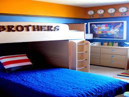 bedroom ideas wonderful awesome blue and orange boy bedroom