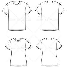 women u0027s and men u0027s t shirt fashion flat templates fashion