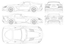 Blueprints Free by Dodge Viper Srt10 Blueprint Download Free Blueprint For 3d Modeling