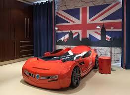 Cars Bunk Beds Race Car Bunk Beds New Grey Speed Racing Car Bunk Bed Home