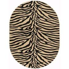 animal print 5 x 7 area rugs rugs the home depot