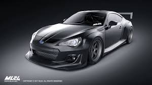 black subaru brz 2017 ml24 2013 2016 subaru brz version 2 wide body kit automotive