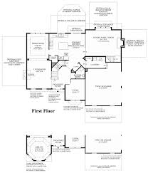 Georgian Floor Plans by Hamlet Pointe The Columbia Ii Home Design