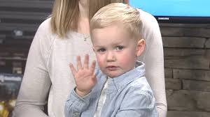 2 year hair cut wach 2 year old steals the show during first haircut segment wach