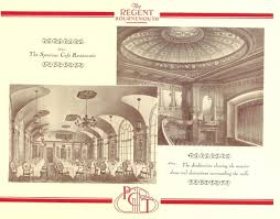 a restaurant seating 2 300 and 15 000 lamps the regent theatre