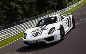 Porsche 918 Front - porsche 918 spyder first ride motor trend