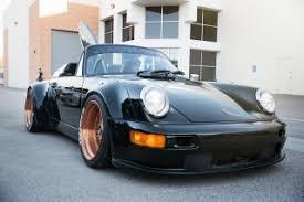 rwb porsche 911 this rwb porsche 911 c4 cabriolet screams socal surf