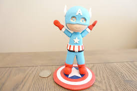 captain america baby captain america cake topper