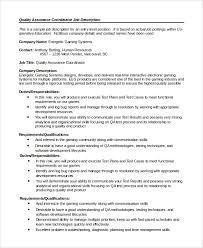 Quality Assurance Resume Examples by Create My Resume Resume Format For Quality Assurance Quality