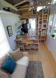 open floor house plans with loft an open concept floor plan tiny house the yosemite http