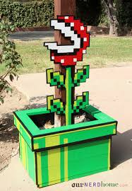 Super Mario Home Decor There U0027s A Super Mario Bros Piranha Plant In Our Backyard Our