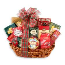 christmas gift baskets buy christmas gift basket from bed bath beyond