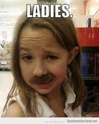 Creepy Mustache Meme - ron swanson has a daughter randomoverload
