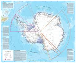 Flat Map Of World by Antarctica South Pole Wall Map Arctic Antarctic Wall Maps
