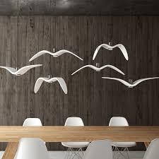 esszimmer len pendelleuchten nordic kreative seagull pendelleuchten schwarz weiß led
