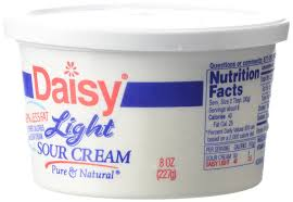 light sour cream nutrition daisy light sour cream 8 oz amazon com grocery gourmet food