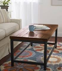 Rustic Iron Coffee Table Iron Coffee Table Foter